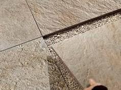 Terrassenplatten Lose Verlegen Terrassenplatten Fliesen